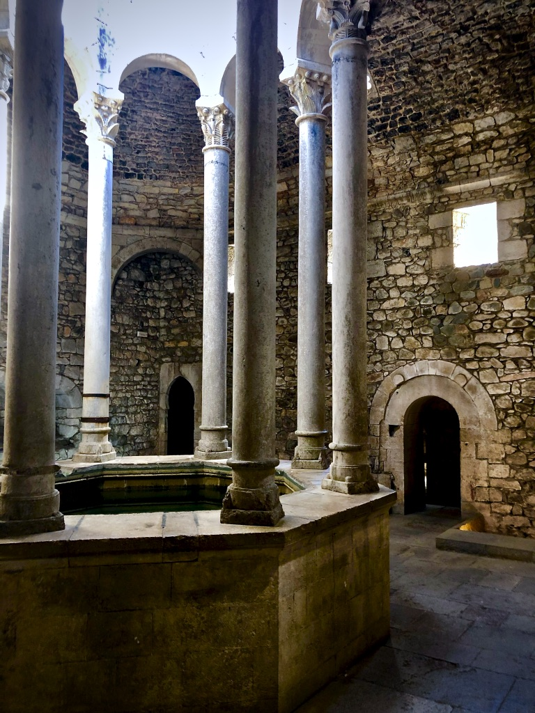 arab baths in Girona